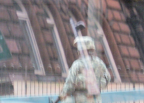 Reflected Soldier