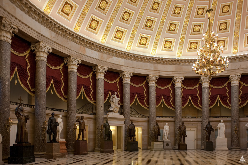 National Statuary Hall | Architect of the Capitol | United ...