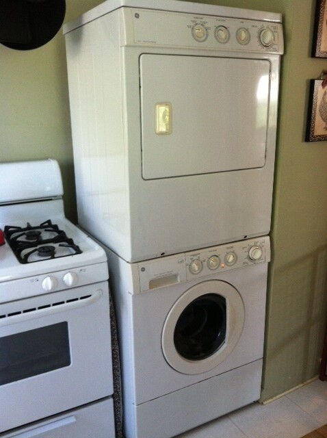 Ge Stackable Washer dryer Manual on