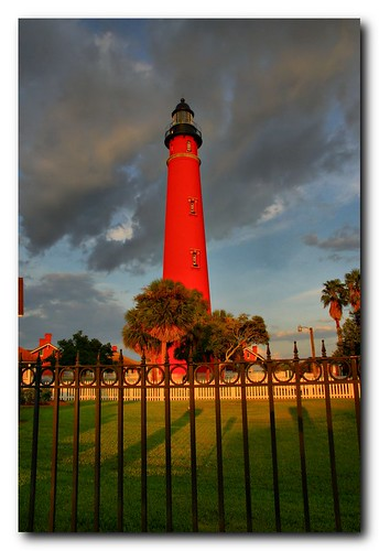 sunset sun lighthouse color history water beautiful outdoors florida ponceinlet ponceinletlighthouse scotthelfrich scotthelfrichphotographycom