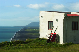 House at Dyrholaey Cliffs