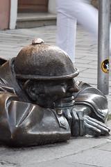 Čumil, el mirón de alcantarilla, Bratislava