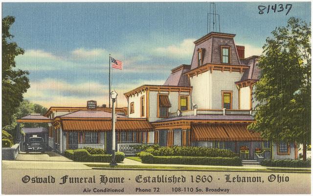 Oswald Funeral Home Lebanon Ohio