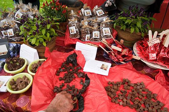 Chocolate Debauchery at Chile Pepper Festival. Photo by Jason Gardner.