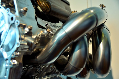 Merc F1 Engine Close