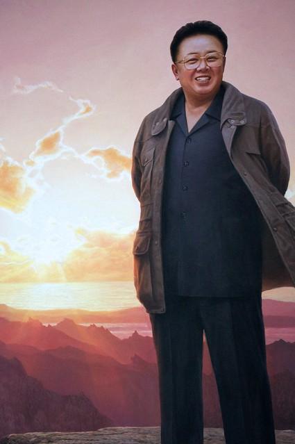 Kim Jong-il Painting