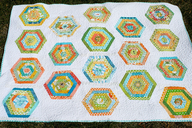 Do. Good Stitches hexy quilt