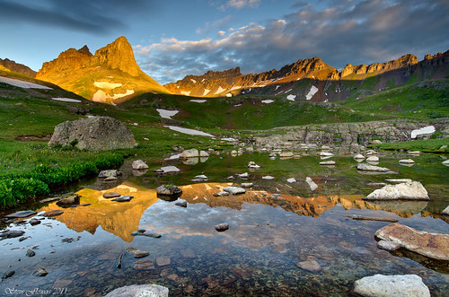 Ice Lake Basin Sunrise!