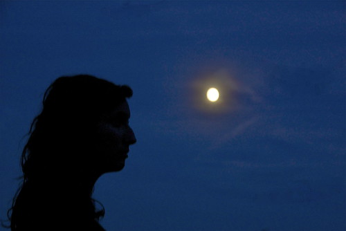 She and the Moon