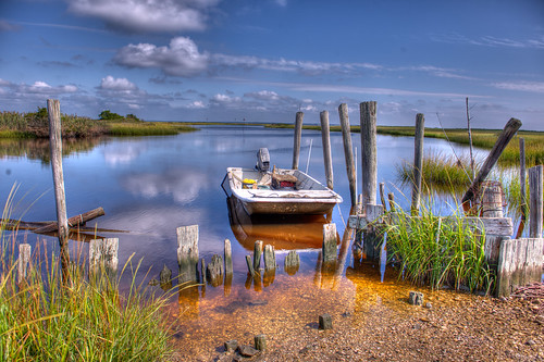 Oyster Creek - Leeds Point NJ by Brian E Kushner