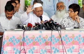 Anna Hazare's Rath Yatra