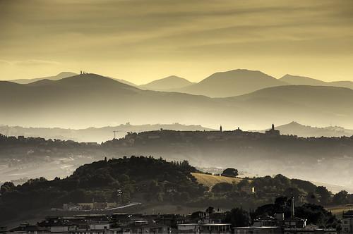 panorama nikon hdr marche paesaggio macerata naturalcolors regionemarche colorinaturali d700 jacopocaggiano