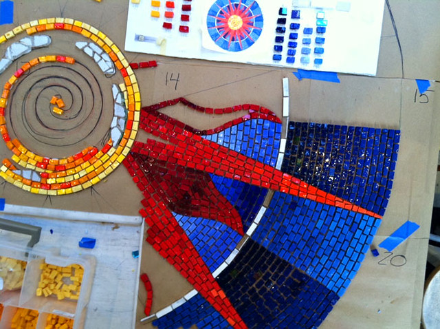 Creating the actual mosaic!