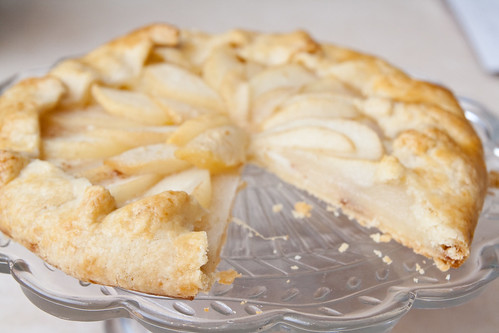 Honey Pear Galette