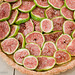 Fresh Calimyrna Figs-Almond Tart
