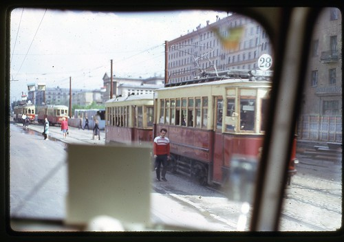 Moscow Trams, 1969