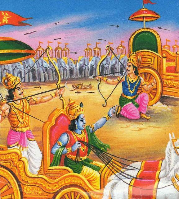 Karna vs arjuna
