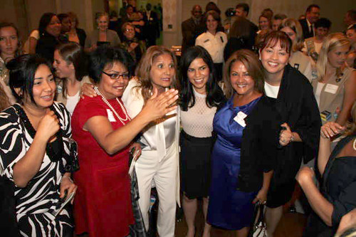 America Ferrera Latinas Unidas present at the Women of Distinction Awards
