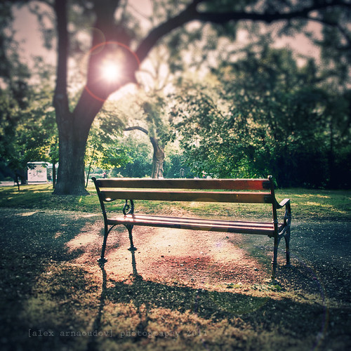 Summer Bench by alex arnaoudov