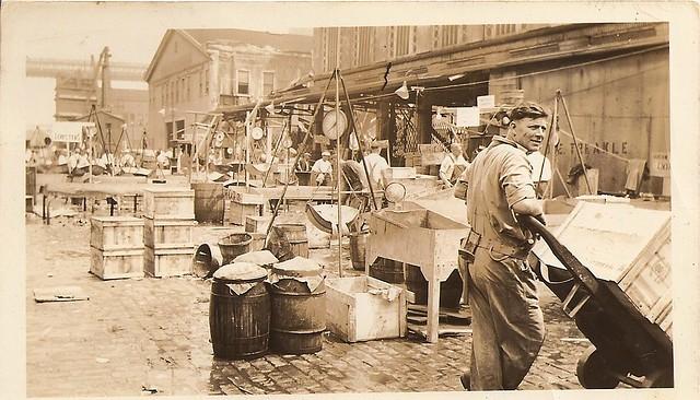 fulton fish market 1936