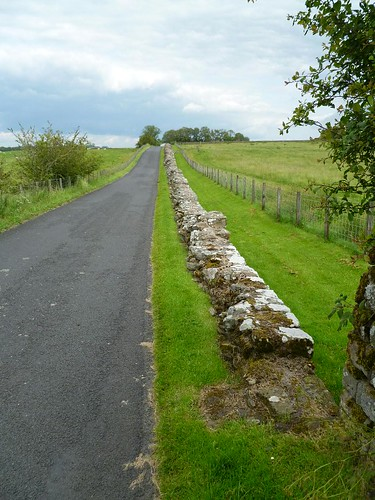 Stone Wall leading to Birdoswald