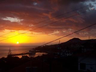 Sunset Over Madeira