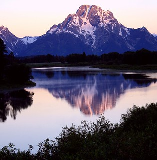 Mount Moran ~ First Light
