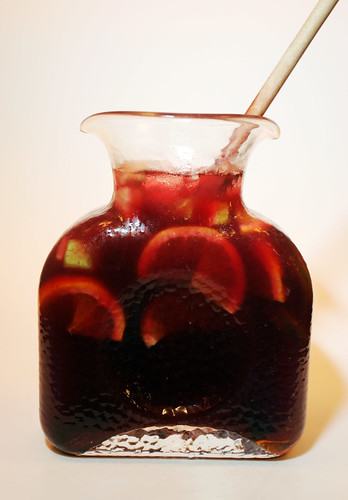 Pitcher of Red Sangria