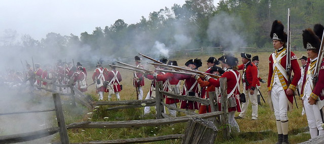 Redcoats & Rebels Revolutionary War Reenactment from Flickr via Wylio