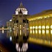 Christian Science Center At Night by TheBeachSaint