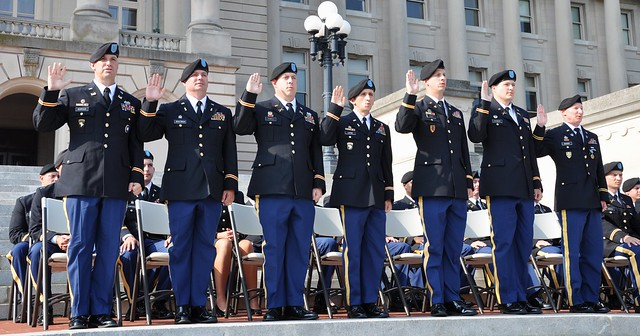 Kentucky's first combined officer and warrant officer graduating class