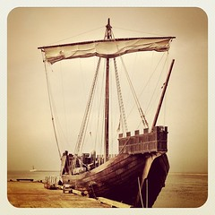 sailing ship, vehicle, ship, mast, watercraft, illustration, galleon,