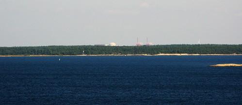 sea plant nature finland geotagged island europe power nuclear fin rauma kylmäpihlaja olkiluoto geo:lat=6114463344 geo:lon=2130315967