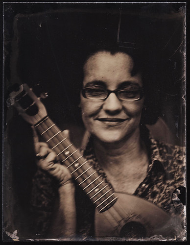 Nashville tintype photography portrait music