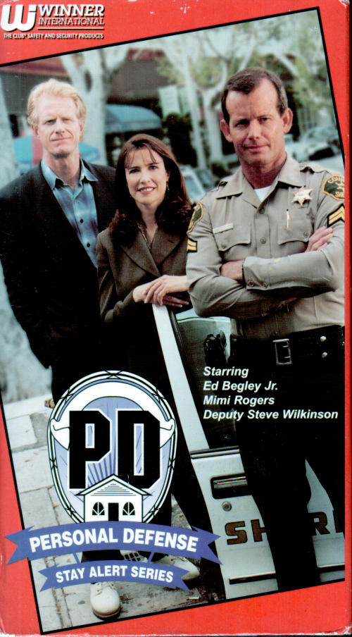 Personal Defense VHS front