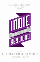 "The Cosmopolitan of Las Vegas Presents ""Indie Sessions at the Boulevard Pool"" Featuring The Naked & Famous"