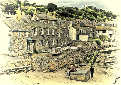 Mousehole, Cornwall
