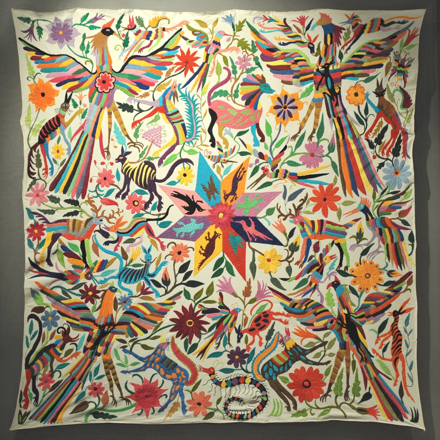 Otomi embroidery mexico flickr photo sharing