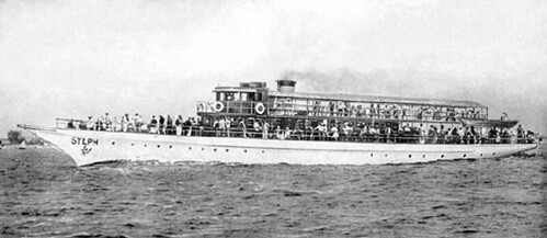 The Sylph as a Sea Gate Ferry circa 1938