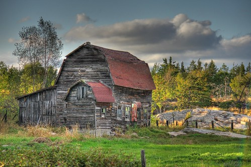 Old barn Hdr