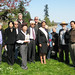 Seward Park's Centennial Ceremony Cherry Tree Planting #1