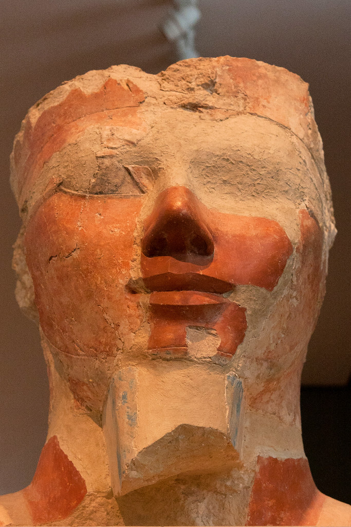 Egyptian, Dynasty 18, joint reign of Hatshepsut and Thutmose III ca. 1473-1458 BC  The Metropolitan Museum allows photo shooting providing there is no financial gain.  Please respect their policy