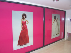 Digitaly printed retail window graphics