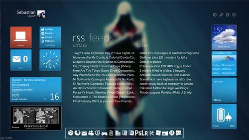 September desktop - Assassin's Creed theme