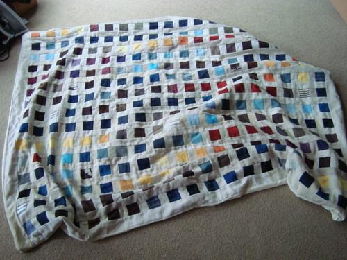 Pillowcase binding tutorial 4