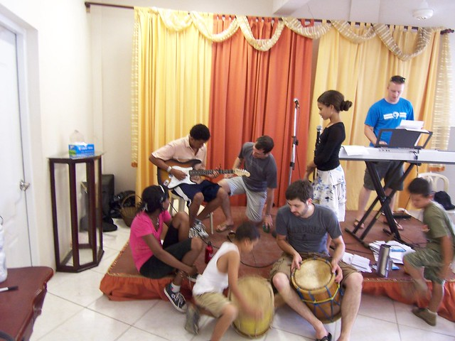 percussion and guitar lessons