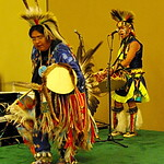 MLB 2011 All-Star Game - FanFest - Native Spirit Dancers with Brian Hammill perform Warrior Dance