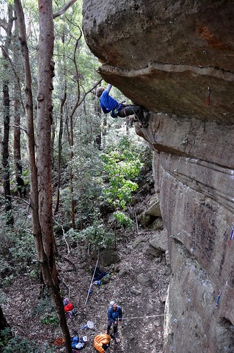 Climbing Nowra - The Dark Side.