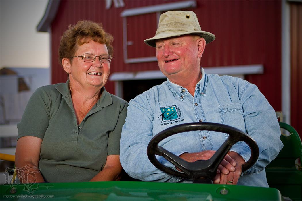 Acadia Valley B&B: Shirley & Bert [2 of 3]