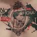 Cameo/Bukowski chest piece by Allen Tattoo
